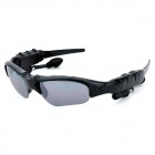 Creative Bluetooth V2.0 Headsets UV400 Protection Sunglasses w/ Microphone / Mini USB - Black