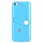 Protective Back Case w/ Stand for iPhone 5 - Blue