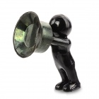 Creative 3D Men Style Stand Holder for iPhone - Black