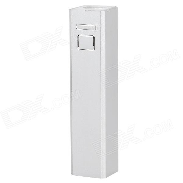 5V 3200mAh External Charging Battery + USB Cable for Samsung i9500 / i9300 / N7100 - Silver