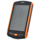 MOPO MY-23000 Portable Solar Battery Power Bank für Handys / Tablets + More - Schwarz + Orange