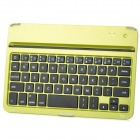 Ultra-thin Bluetooth v3.0 60-Key Keyboard for Ipad MINI - Yellowish Green + Black