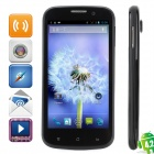 "MIZ Z1 Quad-Core Android 4.2 WCDMA Smartphone w/ 4.5"" Capacitive Screen, Wi-Fi and GPS - Black"