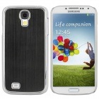 Protective Aluminum Alloy Electroplating Case for Samsung Galaxy S4 i9500 - Black + Silver