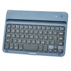 Ultra-thin Bluetooth v3.0 60-Key Keyboard for Ipad MINI - Sapphire + Black