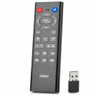 SEENDA Rechargeable Handheld RF 2.4GHz Wireless 20-Key Fly Air Mouse / Remote Control - Black