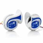 DIY Car / Motorcycle / Van Loud Air Snail Horns - Blue + White (DC 12V / Pair)