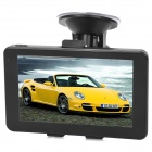 "CAPF DH730B 5.0"" TFT Touch Screen Win CE 6.0 Car GPS Navigator w/ AV-in / Bluetooth / FM / TF"