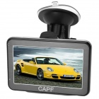 "CAPF DH600 4.3 ""TFT Touch Screen Win CE 6.0 GPS Navigator w / FM / TF / 4GB Flash-Speicher"