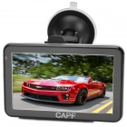 "CAPF DH760B 5.0"" Resistive Screen Win CE 6.0 GPS Navigator w/ BT / AV-IN / MP3 / MP4 / TF - Black"