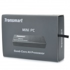 MK908 Quad-Core Android 4.1 Mini PC Google TV Player w/ 2GB RAM / 8GB ROM / Bluetooth - Black