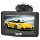 "CAPF DH600 4.3"" TFT Touch Screen Win CE 6.0 Car GPS Navigator w/ FM / TF / 128MB RAM / 4GB Memory"