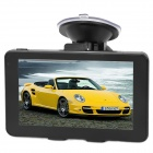"CAPF DH730 5.0"" TFT Touch Screen Win CE 6.0 Car GPS Navigator w/ FM / TF / 128MB RAM / 4GB Memory"