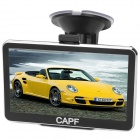 "CAPF DH710 5.0"" TFT Touch Screen Win CE 6.0 Car GPS Navigator w/ 128MB RAM / 4GB Memory / FM / TF"