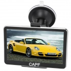 "CAPF DH710B 5.0"" TFT Touch Screen Win CE 6.0 Car GPS Navigator w/ AV-in / Bluetooth / FM / TF"