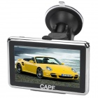 "CAPF DH620 4.3"" TFT Touch Screen Win CE 6.0 Car GPS Navigator w/ FM / TF / 4GB Memory"