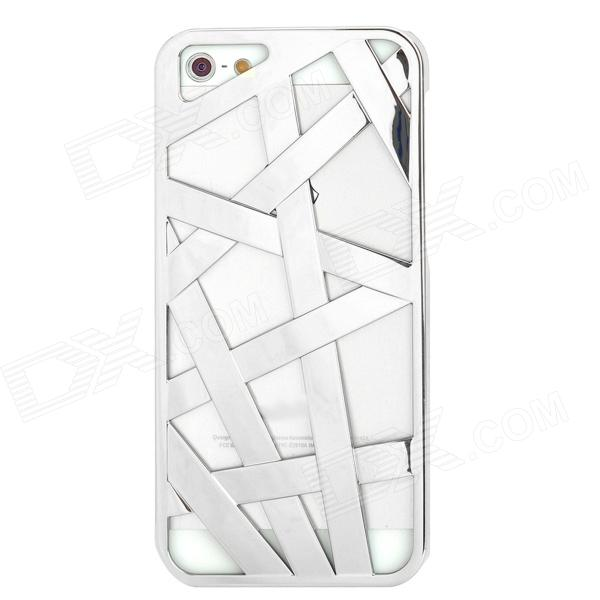все цены на Bird Nest Style Protective Plastic Back Case for Iphone 5 - Silver онлайн