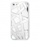 Bird Nest Style Protective Plastic Back Case for Iphone 5 - Silver