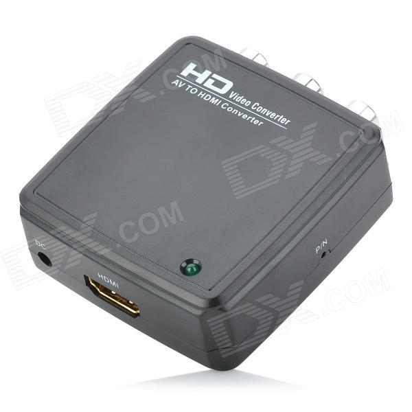 R2HD01 AV to HDMI Converter - Black rs232 to rs485 converter with optical isolation passive interface protection