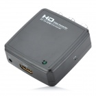 R2HD01 AV to HDMI Converter - Black
