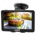 "CAPF DH750 5.0"" TFT Touch Screen Win CE 6.0 Car GPS Navigator w/ FM / TF / 128MB RAM / 4GB Memory"