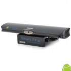 Jesurun V3 Android 4.2.1 1080P Smart TV Box w / 2.0MP Camera / LAN / USB / HDMI - Black (US-Stecker)