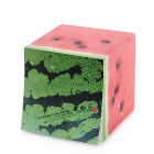 ZhiJiang XGZZ Creative Watermelon Style Note Pad Memo Block - Red + Green (750-Pages)