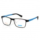 MINGDUN 2316 Fashion Unisex Supper Light Tungsten Titanium Plastic Steel Glasses Frame - Black
