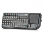 SEENDA SD-810-10BT Rechargeable Handheld 2.4G Bluetooth v2.0 69-Key Keyboard Air Mouse - Black