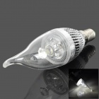 TOHDA E14 3W 200lm 6500K 13-LED White Light Candle Shaped Lamp (220V)