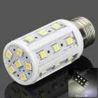 TOHDA E27 5W 300lm 6500K 24-SMD 5050 LED White Light Corn Shaped Lamp (220V)