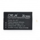 DEJI DJ-BL-4CT 3.7V 900mAh Lithium-ion Battery for Nokia 2720A / 5310XM / 5630XM + More - Black