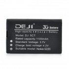 DEJI DJ-BL-5CT 3.7V 1100mAh Lithium-ion Battery for NOKIA 3720 / 5220XM / 6303C + More - Black