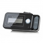 "BH200PB Car Sunvisor 2.0"" LCD Bluetooth V2.1 Slider Handsfree Car Kit for Cell Phone - Black"