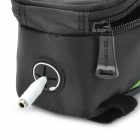 Roswheel 12496M-G5 Saddle Touch Screen Bag for Cell Phone w/ Earphone Hole - Black