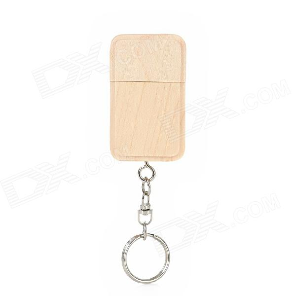 MUT-05 Wooden USB 2.0 Flash Drive - Wood Color (16GB)