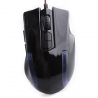 A-JAZZ WOLF TEAM Wired 8-Button Breathing Light Customizable Programming Optical Gaming Mouse
