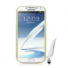 BASEUS Ultrathin Protective Back Case w/ Screen Film + Stylus for Samsung Galaxy S4 i9500 - Yellow
