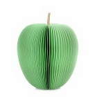 Paperworker Fruit01 Green Apple Style Sticky Memo Pad Note Paper - Green (150-Page)