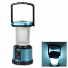 HC-033 Outdoor Super Bright 20-LED White Light Camping Lantern - Blue + Black