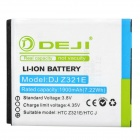 DEJI DJ-Z321E Replacement 1900mAh Li-ion Battery for HTC Z321e / HTC J - White