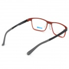 MINGDUN 2316 Fashion Ultra-Lightweight Plain Glasses Frame for Myopia - Black + Red