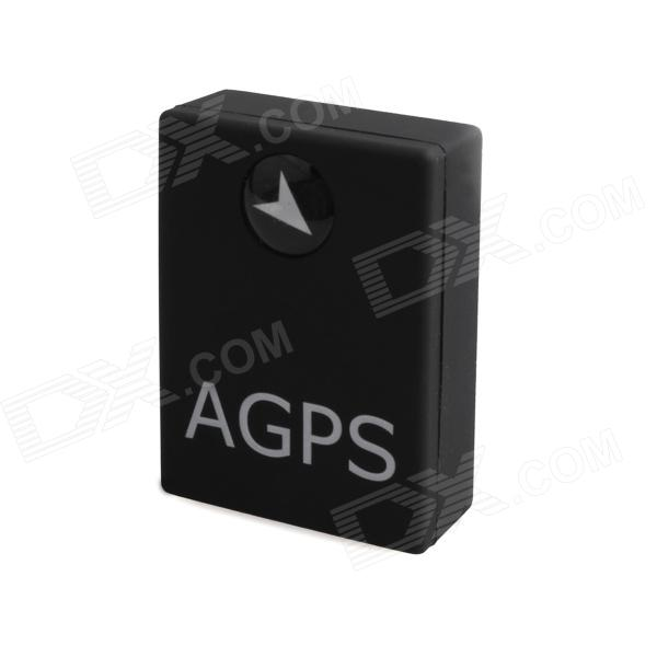 PORTWORLD A6 Mini AGPS / Quadband GSM Positioning Tracker w/ Voice Callback - Black