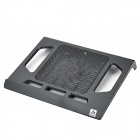"iDock NC2 USB Powered 11-Blade 2-LED Blue Cooling Gear for 15"" Laptop - Black"