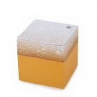Paperworker XGZZ Beer Style Memo Note Paper Cube - Yellow + White (750 Sheets)