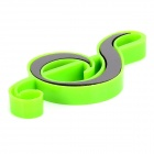 FUNI CT-6629 Musical Notes Style Magnetic Button for White Board / Refrigerator - Green (9 PCS)