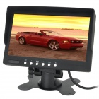 "7.0"" LCD 16:9 NTSC / PAL Car Monitor w/ Sun Visor - Black (9~35V)"