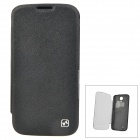 HOCO HS-L033 Ultrathin Replacement Battery Back Case w/ Cover for Samsung Galaxy S4 i9500 - Black