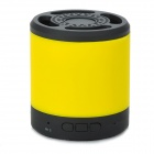 PT-H901 Rechargeable Wireless Bluetooth V2.1 Music Speaker Player with TF Slot - Black + Yellow