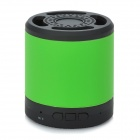 PT-H901 Rechargeable Wireless Bluetooth V2.1 Music Speaker Player with TF Slot - Black + Green